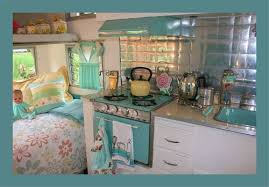 cassiefairys camper project shabby chic retro interior inspiration
