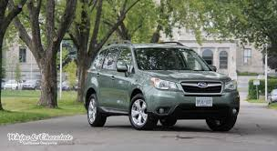 Test Whip 2014 Subaru Forester 2 5i And 2 0 Xt