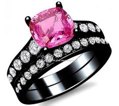 black and pink wedding rings all best black wedding rings black wedding rings