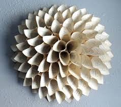 dimensional wall wall designs dimensional wall paper wreath paper flower