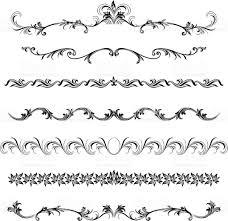 ornamental border designs stock vector 165745854 istock