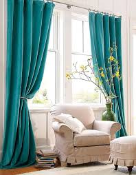 Curtains With Turquoise Turquoise Window Curtains In Home Decor Window Curtains