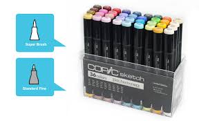 yessss copic 25th anniversary edition markers super brush