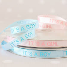 baby shower ribbon it s a boy ribbon it s a girl ribbon baby shower ribbon