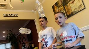 Ryan From Flipping Out by Bottle Flipping U0027 Is New Kid Fad That U0027s Driving Parents Crazy Newsday