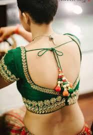 open blouse mehandi designs shaped back open blouse design