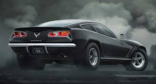 cars that look like corvettes what would it look like if the corvette c7 went