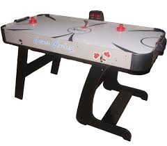 foldable air hockey table foldable air hockey table 4 feet 6 inches electronic scoring sold