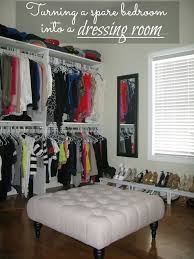 Small Storage Room Design - how to turn a small bedroom into a dressing room