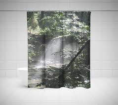 Curtains With Trees On Them Tree Shower Curtain Birch Shower Curtain Palm Shower Curtain