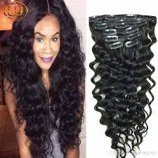 curly hair extensions clip in human hair clip in curly hair extensions wave malaysian