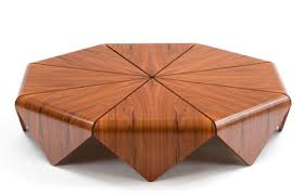 wood table handmade modern wood table by etel petalas