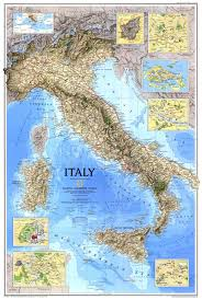 Milan Italy Map National Geographic Italy Map Of 1995 Maps Com
