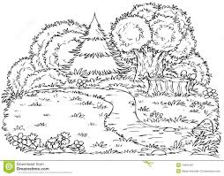 forest coloring page jungle forest coloring pages for adults to