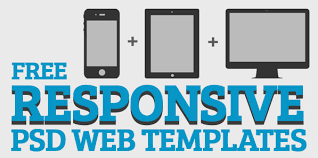 responsive design template free responsive web templates with psd freebies graphic design