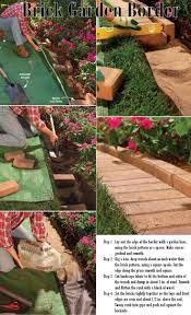 How To Make A Brick Patio by 25 Trending Brick Edging Ideas On Pinterest Brick Garden Edging