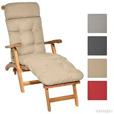 cuscini per sedie da giardino beautissu cuscino per sedie a sdraio da giardino flair dc