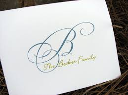 personalized family note cards family notes family note