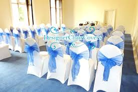 Wedding Chair Covers And Sashes Designer Chair Covers To Go Starlight Lighted Wedding Backdrop