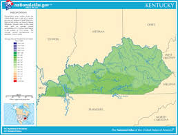 map kentucky lakes rivers map of kentucky lakes streams and rivers