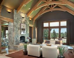 Lighting For Cathedral Ceilings by Rustic Living Room Interior Wall Sconces Cathedral Ceiling
