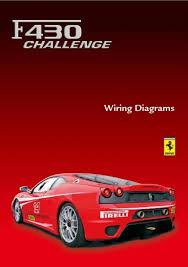 f430 challenge stradale f430 challenge stradale wiring diagrams manual for sale