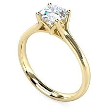 gold diamond engagement rings yellow gold engagement rings diamond heaven