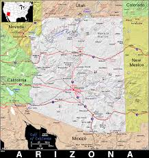 Map Of New Mexico And Arizona by Az Arizona Public Domain Maps By Pat The Free Open Source