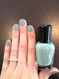 zoya bevin is so very pantone grayed jade http www zoya com