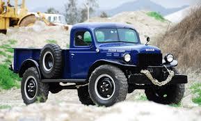 dodge truck power wagon 1946 68 dodge power wagon pickuptrucks com