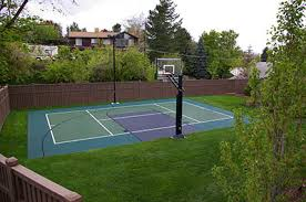 Backyard Sport Court Cost by Sport Court Experienced Courtbuilders Sport Court