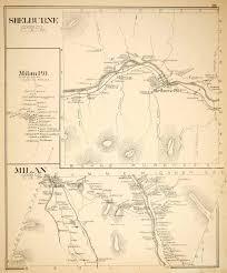 Paper Town Map Late 19th Century New Hampshire Original Maps Prints U0026 More