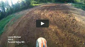 motocross helmet cam layne michael pyramid valley mx helmet cam on vimeo