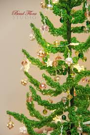 french beaded christmas tree bead flora studio
