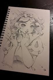 snow white paris sketch book lighane deviantart