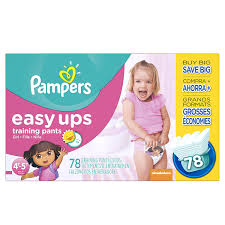 amazon com pampers girls easy ups training underwear 4t 5t size