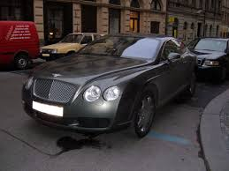bentley continental gt wikipedia file gray bentley continental gt front side jpg wikimedia commons
