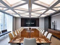 neolith calacatta conference table paired with eames management