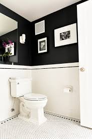 Monochrome Bathroom Ideas Colors Banheiros Com Pastilhas White Tiles Dark Walls And Tile Patterns