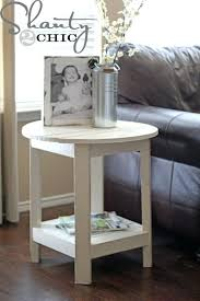 small white side table for nursery small round end table small round side table for nursery white round