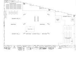 exhibitor floor plan floor plan
