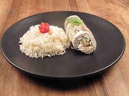 cuisiner du riz blanc roulades de poulet farcies et riz blanc biot marche frais