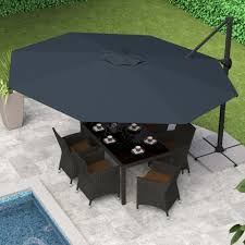 Offset Patio Umbrellas Clearance by Rectangular Patio Umbrellas Clearance Home Design Ideas And Pictures