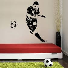 messi sticker for wall lionel messi football vinyl wall sticker buy lionel messi football vinyl wall sticker online in india at best price