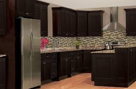 Solid Wood Shaker Kitchen Cabinets by Rittenhouse Shaker U2013 Dark Chocolate U2013 Solid Wood Cabinets