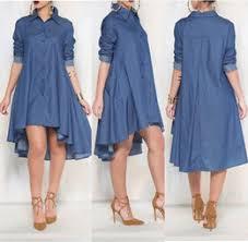 womens plus denim dress online womens plus size denim dress for sale