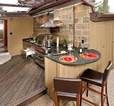kitchen outdoor ideas kitchen design 20 photos outdoor kitchen ideas for small spaces