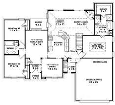 Simple 3 Bedroom House Plans Single Story Three Bedroom House Plans 653788 One Story 3 Bedroom