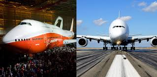 Airbus A 380 Interior Boeing 747 8 Vs Airbus A380 The Airline Giants Face Off Cnn