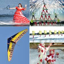 cypress gardens water ski show winter haven fl famiy events